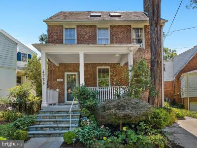 Chevy Chase Single Family Home For Sale: 4929 Chevy Chase Boulevard