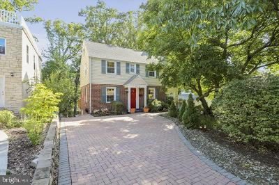 Takoma Park MD Single Family Home For Sale: $520,000