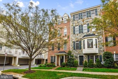 Gaithersburg Townhouse For Sale: 651 Hurdle Mill Place