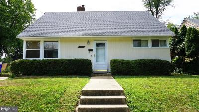 Silver Spring Single Family Home For Sale: 9709 Dilston Road