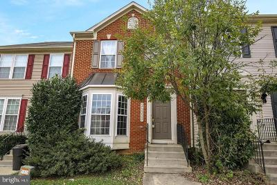 Montgomery County Townhouse For Sale: 25333 Damascus Park Terrace