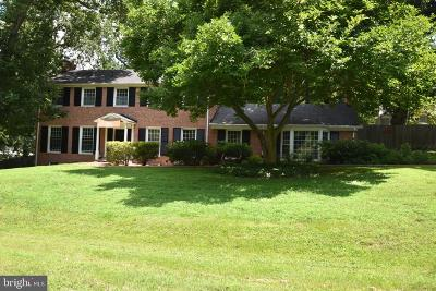 Bethesda Single Family Home For Sale: 7815 English Way