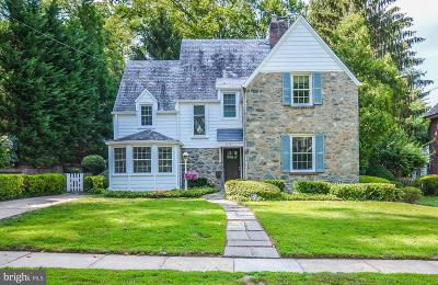 Chevy Chase Single Family Home For Sale: 4105 Sycamore Street
