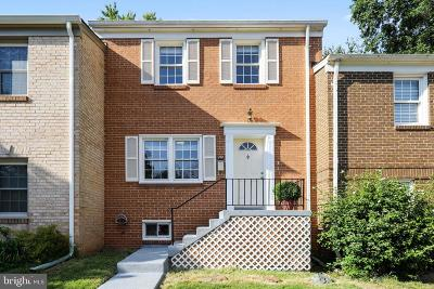 Gaithersburg Townhouse For Sale: 232 Gold Kettle Drive