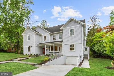 Chevy Chase Single Family Home For Sale: 7116 Western Avenue