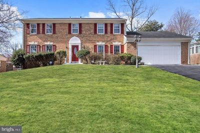 Single Family Home For Sale: 8822 Tuckerman Lane