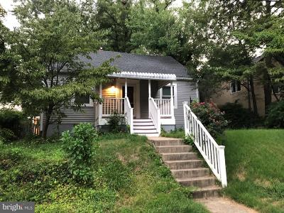 Silver Spring Single Family Home For Sale: 9616 Bristol Avenue