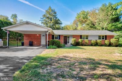 Silver Spring, Wheaton Single Family Home For Sale: 1113 Spotswood Drive