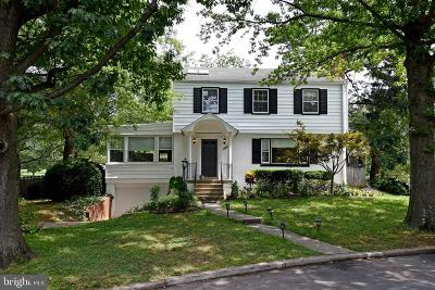 Chevy Chase Single Family Home For Sale: 6411 Offutt Road