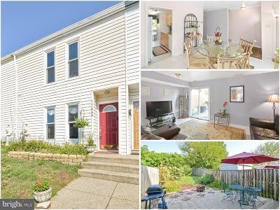 Gaithersburg Townhouse For Sale: 17664 Shady Spring Terrace