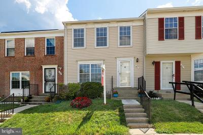 Gaithersburg Townhouse For Sale: 65 Portside Court
