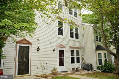 Silver Spring Townhouse For Sale: 1731 Wilcox Lane