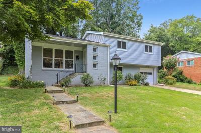 Bethesda Single Family Home For Sale: 7704 Cayuga Avenue
