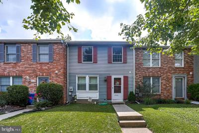 Montgomery County Townhouse Active Under Contract: 10037 Shelldrake Circle