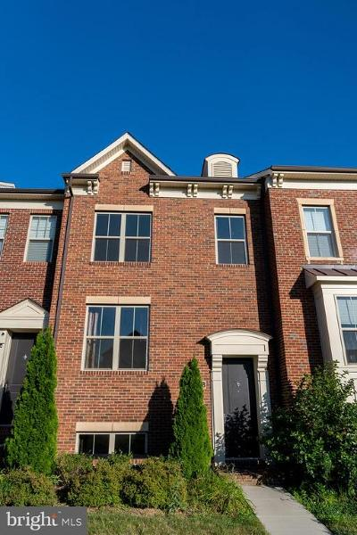 Montgomery County Townhouse For Sale: 14058 Wellspring Avenue