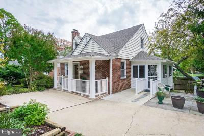 Takoma Park MD Single Family Home For Sale: $559,900