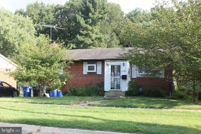 Silver Spring MD Single Family Home For Sale: $294,900