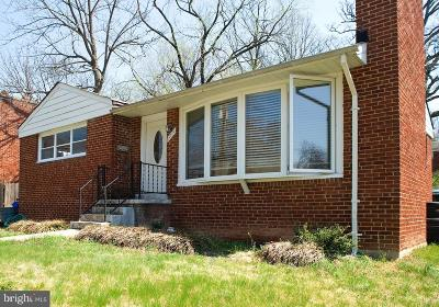 Silver Spring Single Family Home For Sale: 10319 Insley Street