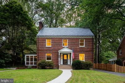 Silver Spring Single Family Home For Sale: 9206 Crosby Road