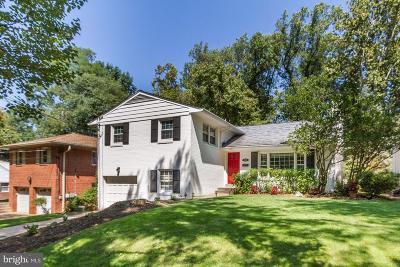 Chevy Chase Single Family Home For Sale: 3519 Glenmoor Drive