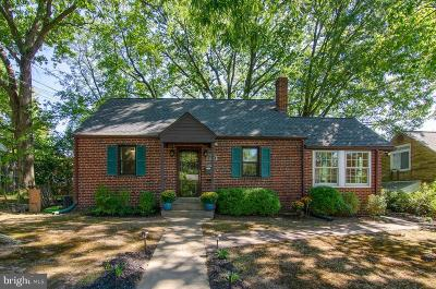 Takoma Park MD Single Family Home For Sale: $515,000