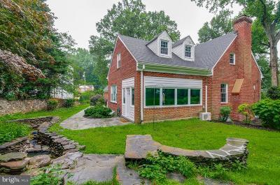 Kensington Single Family Home For Sale: 9701 Connecticut Avenue