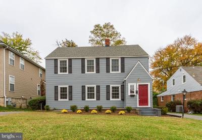 Gaithersburg Multi Family Home Active Under Contract: 6 Cedar Avenue