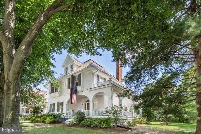 Chevy Chase Single Family Home For Sale: 6 E Melrose Street