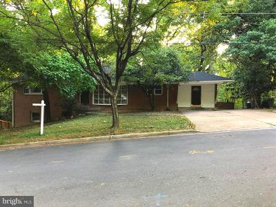 Takoma Park MD Single Family Home For Sale: $742,220