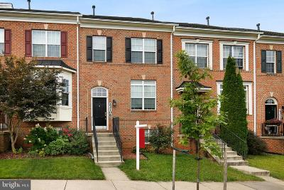 Clarksburg Townhouse For Sale: 23108 Basswood Hill Drive