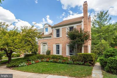 Potomac Townhouse For Sale: 12030 Gatewater Drive