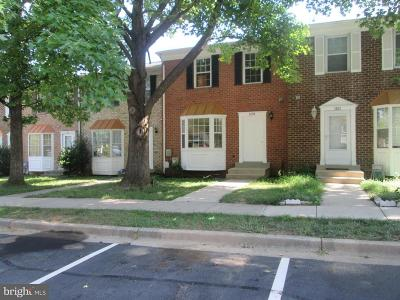 Gaithersburg Townhouse For Sale: 1133 Southern Night Lane
