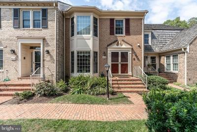 Rockville Townhouse For Sale: 10834 Brewer House Road