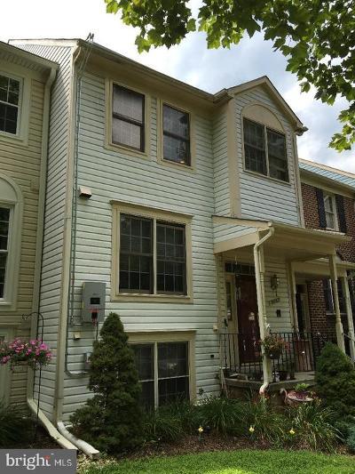 Montgomery Village Townhouse For Sale: 8863 Thomas Lea Terrace