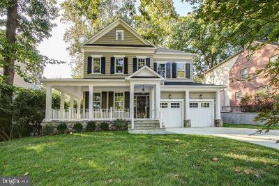 Chevy Chase Single Family Home For Sale: 3206 Rolling Road