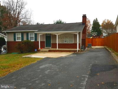 Silver Spring Single Family Home For Sale: 1007 Hollywood Avenue