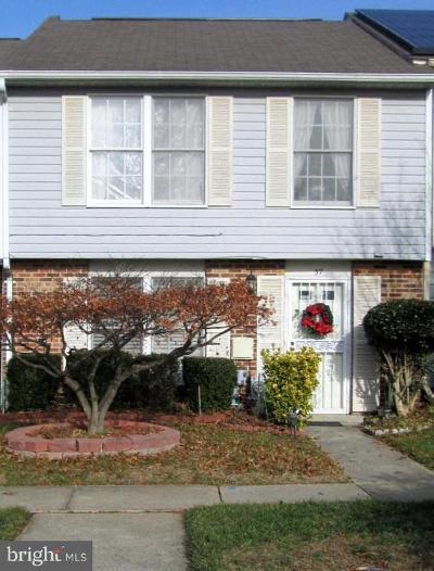 Burtonsville Townhouse For Sale: 37 Leatherwood Court