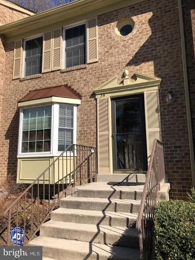 Silver Spring Townhouse Temporarily Off Market: 34 Dunsinane Court