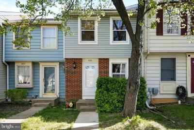 Burtonsville Townhouse For Sale: 4333 Isleswood Terrace