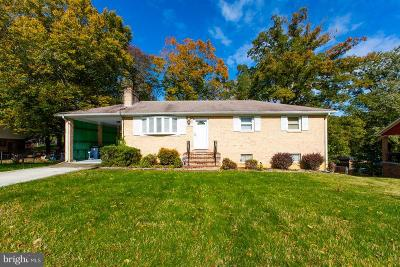 Fort Washington Single Family Home For Sale: 9702 Underwood Drive
