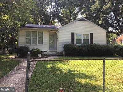 Accokeek Single Family Home For Sale: 14304 Indian Head Highway