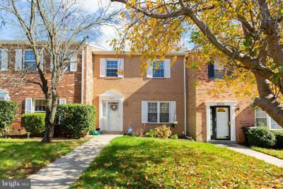Upper Marlboro Townhouse For Sale: 9008 Cheval Lane