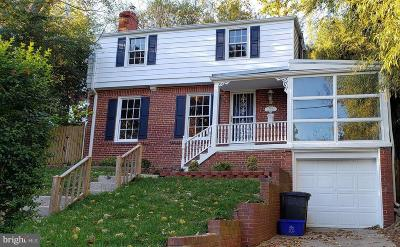 Cheverly MD Single Family Home Active Under Contract: $360,000