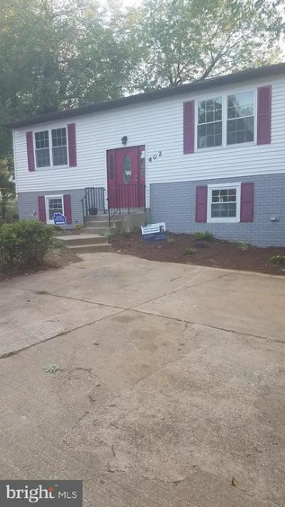 Capitol Heights Single Family Home For Sale: 402 71st Street