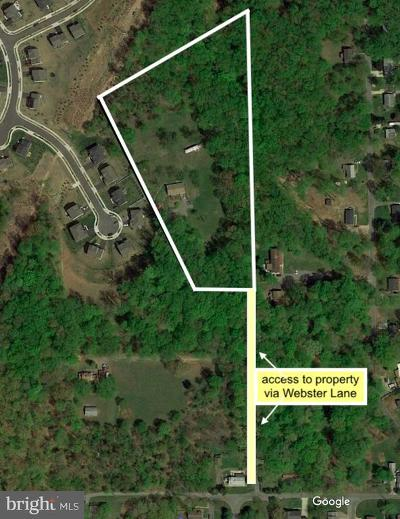 Fort Washington Residential Lots & Land For Sale: 7206 Webster Lane