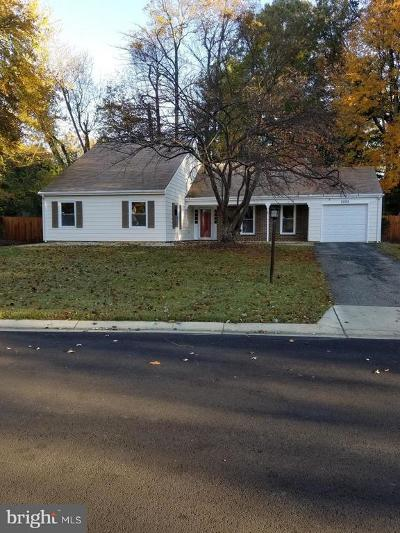 Bowie Single Family Home For Sale: 2005 Penfield Lane