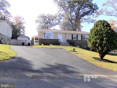 Beltsville Single Family Home For Sale: 4909 Harford Avenue