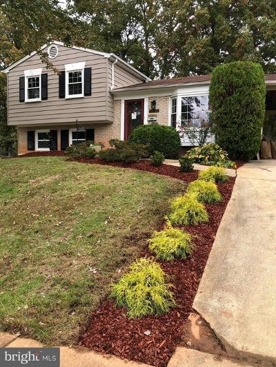 Lanham Single Family Home For Sale: 5807 Justina Drive