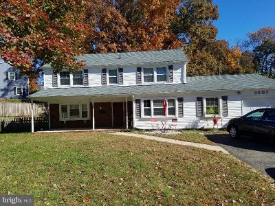 Bowie, Upper Marlboro Single Family Home For Sale: 3607 Violetwood Place