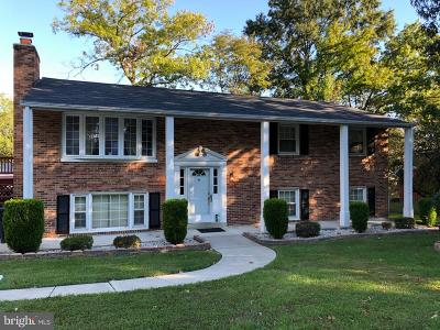 Glenn Dale Single Family Home For Sale: 9910 Dubarry Street